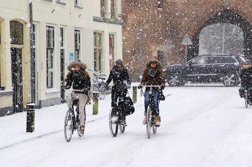 Sneeuw vrouwen